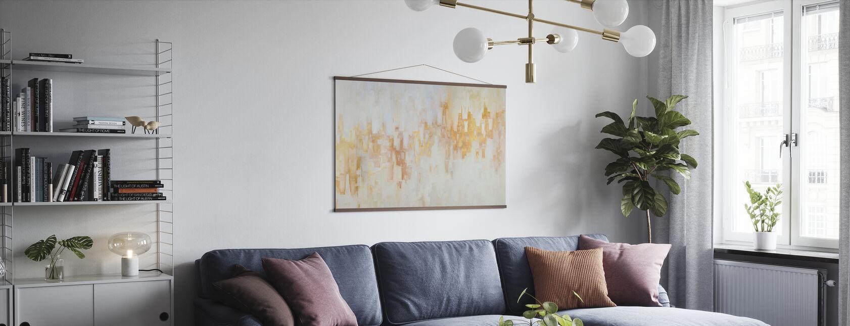 Evening Light II - Poster - Living Room