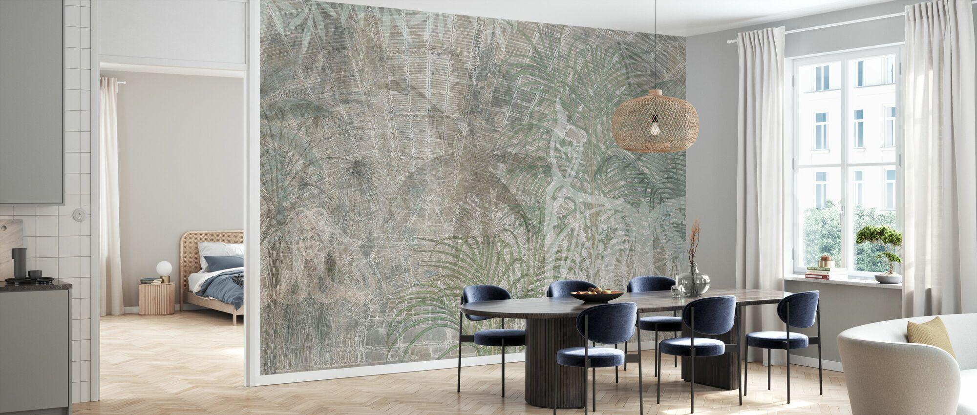 Reminiscensserie palmer - Tapet - Kök