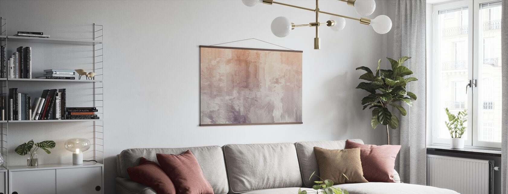 Karkeat akvarellit - Juliste - Olohuone