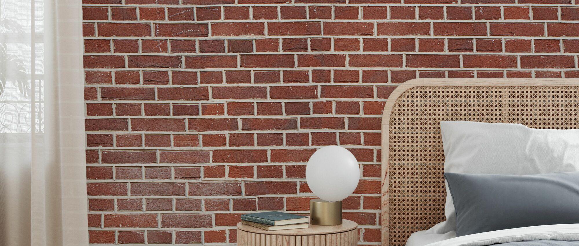 Brixton Brick Wall - Wallpaper - Bedroom
