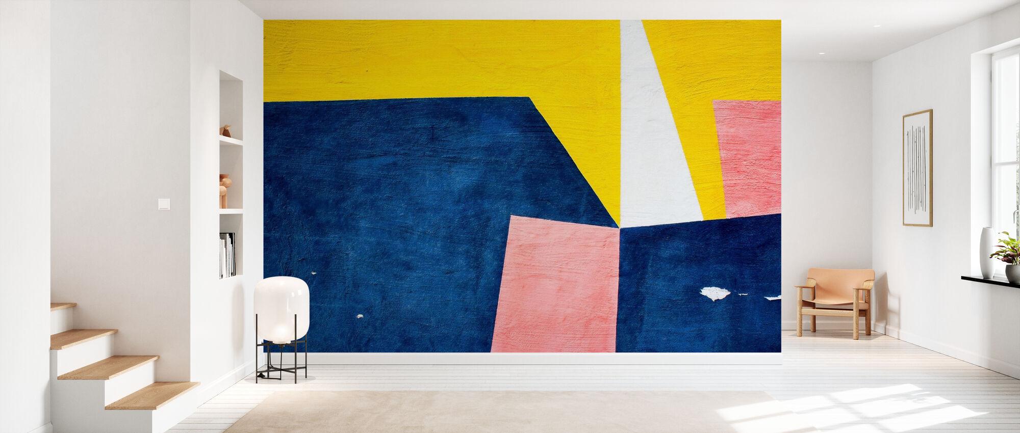 Värikäs seinätaide - Tapetti - Aula