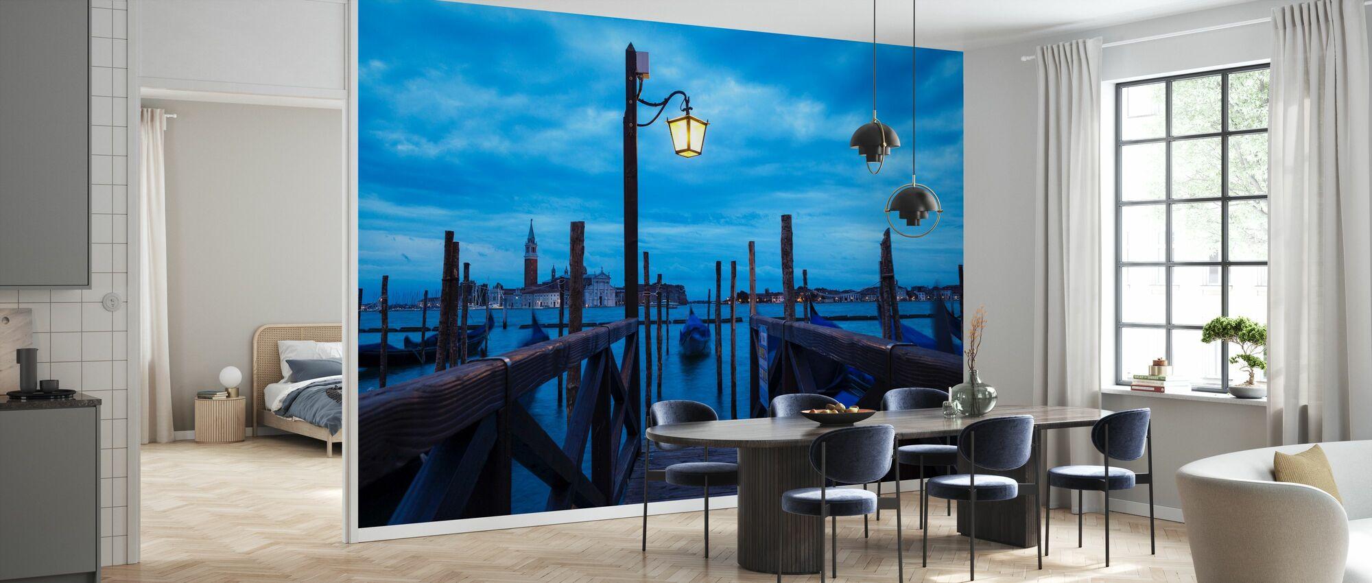 Venedig Italien Pier - Tapet - Køkken