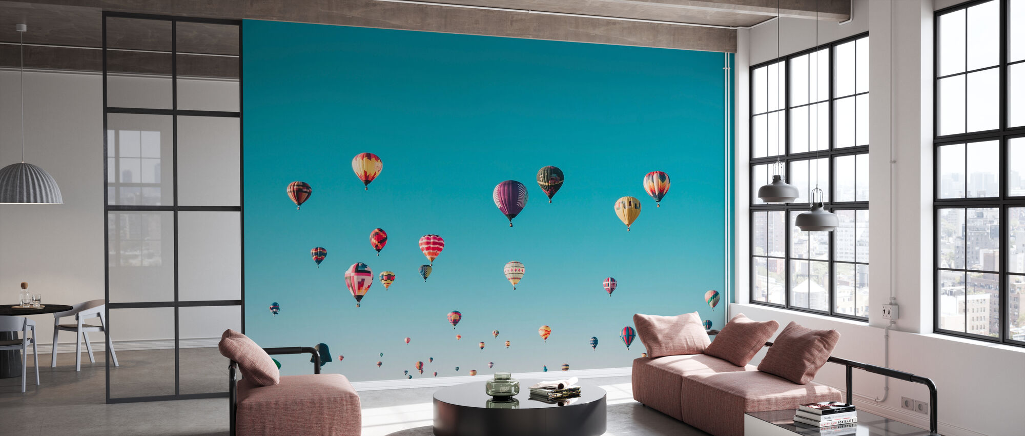 Hot Air Balloons - Wallpaper - Office