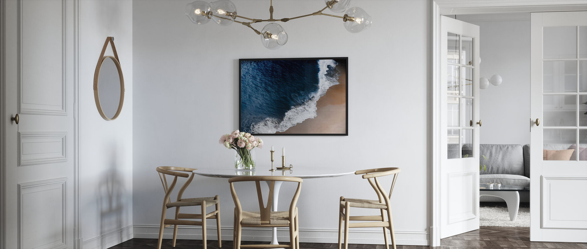 Ocean Waves - Poster - Kitchen