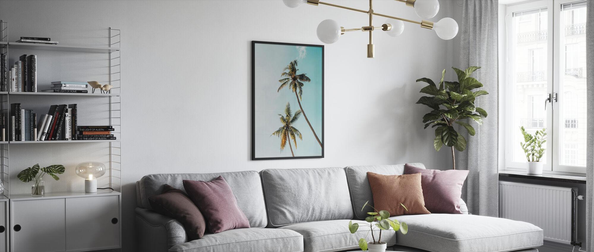 Kokospalme - Poster - Wohnzimmer