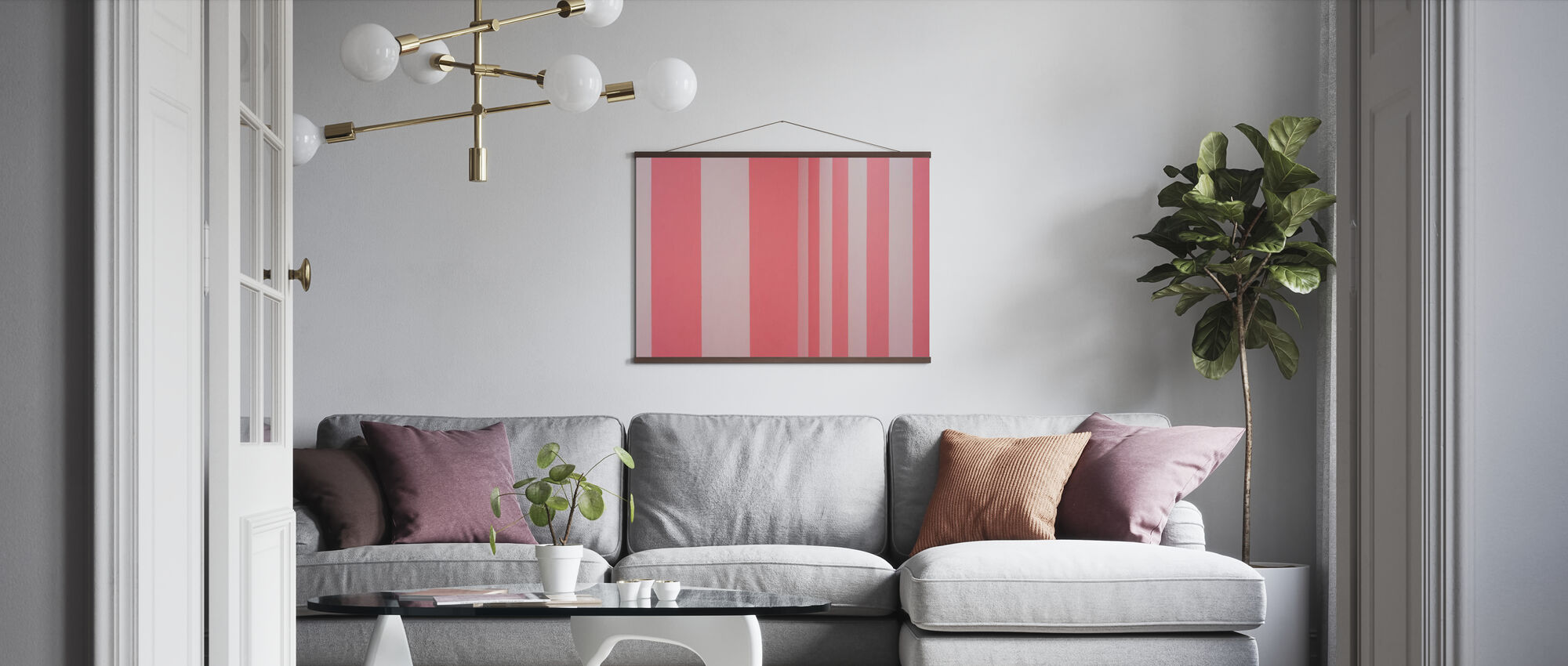 Wrapping Paper - Poster - Living Room