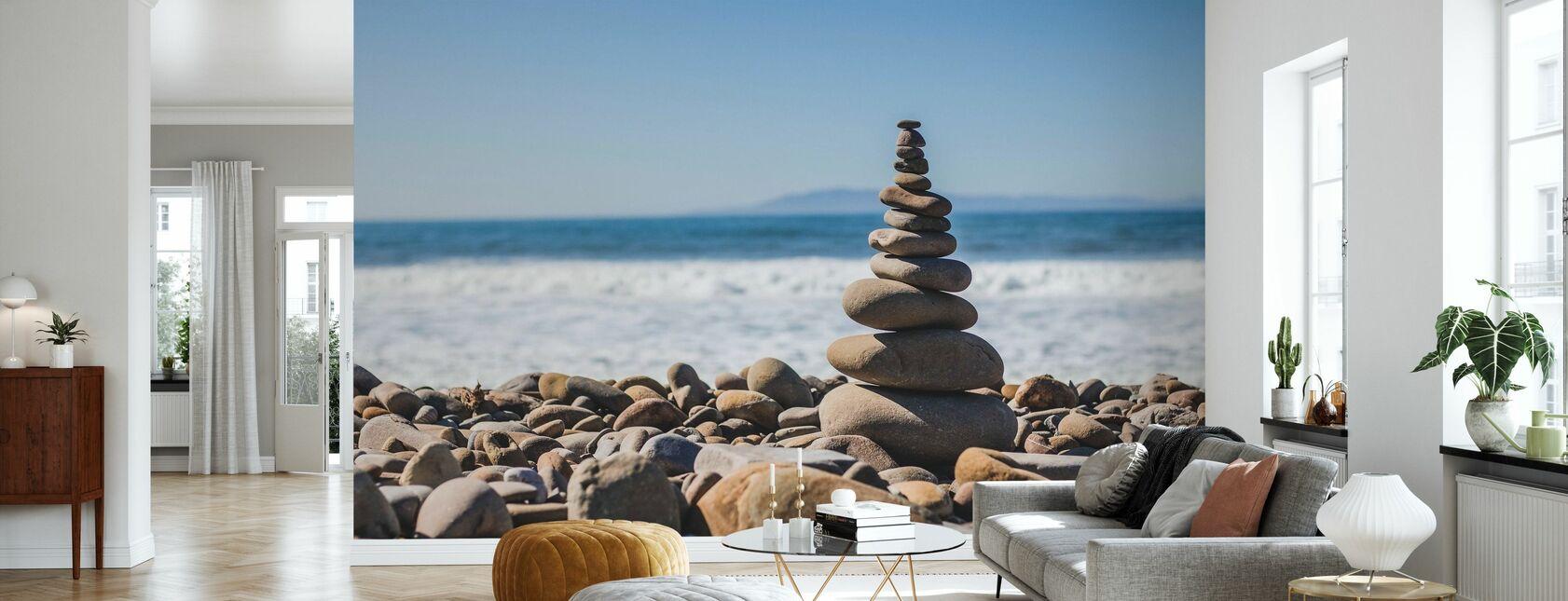 Pebble Tower - Wallpaper - Living Room