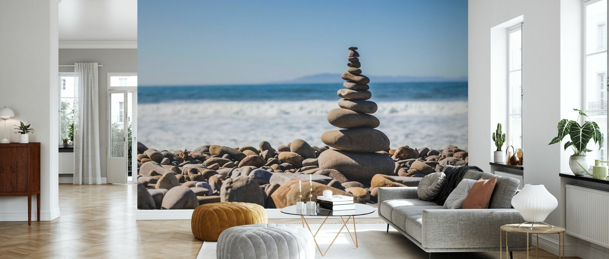 Pebble Tower - Wallpaper - Living Room