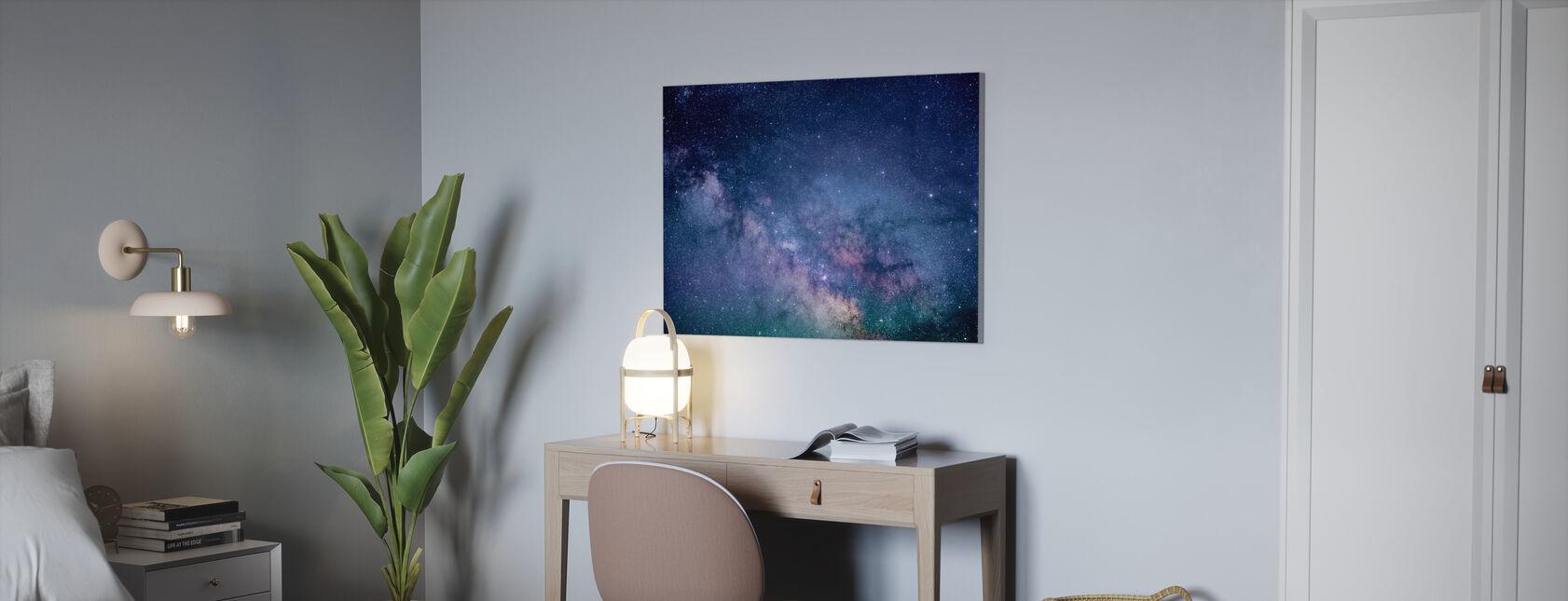 Galaxy Stars - Canvas print - Office