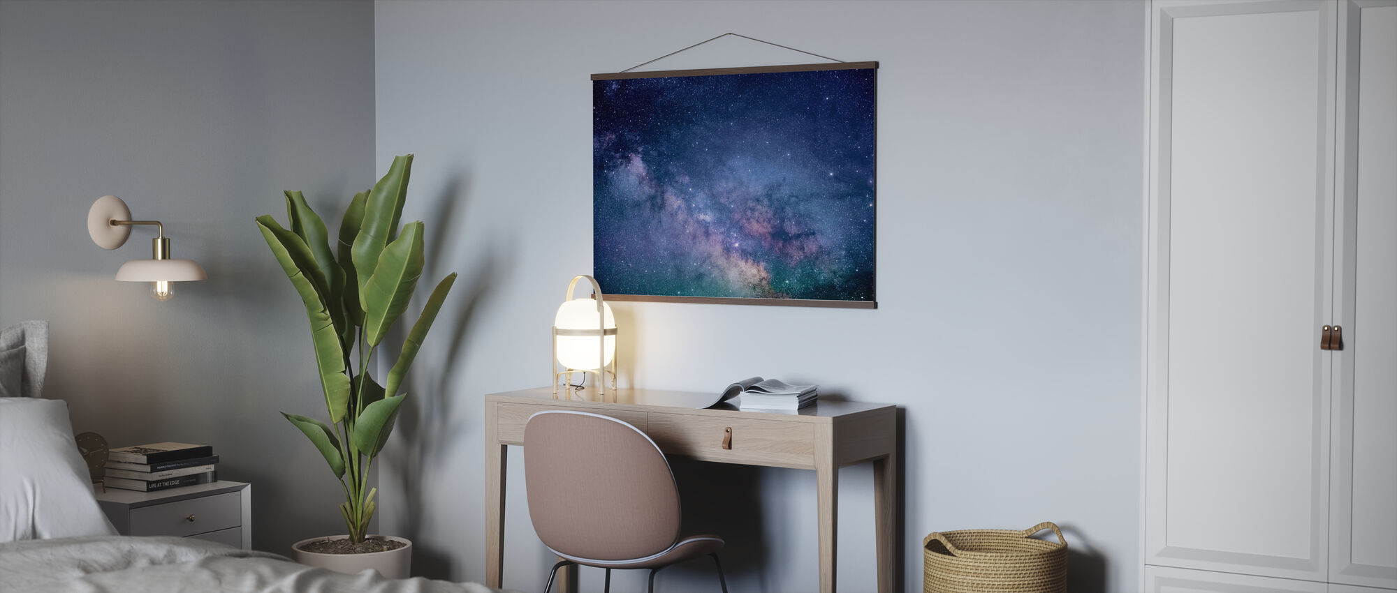 Galaxy Stars - Poster - Office