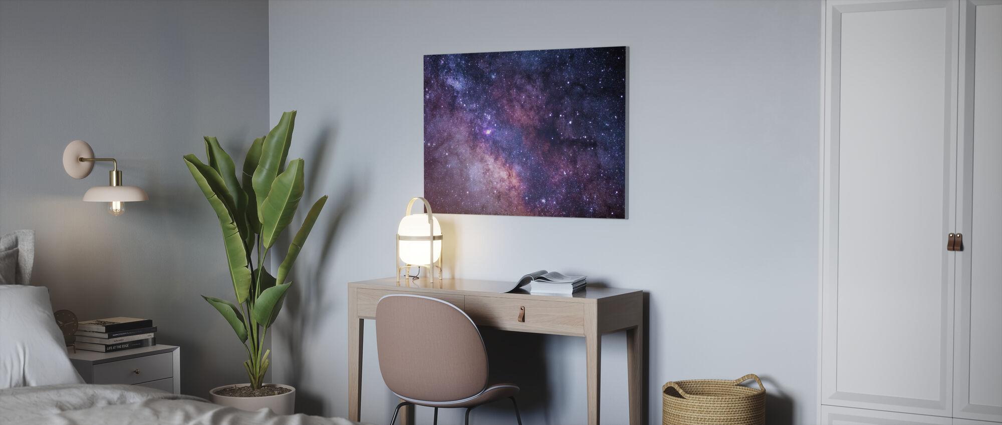 Galaksen - Billede på lærred - Kontor