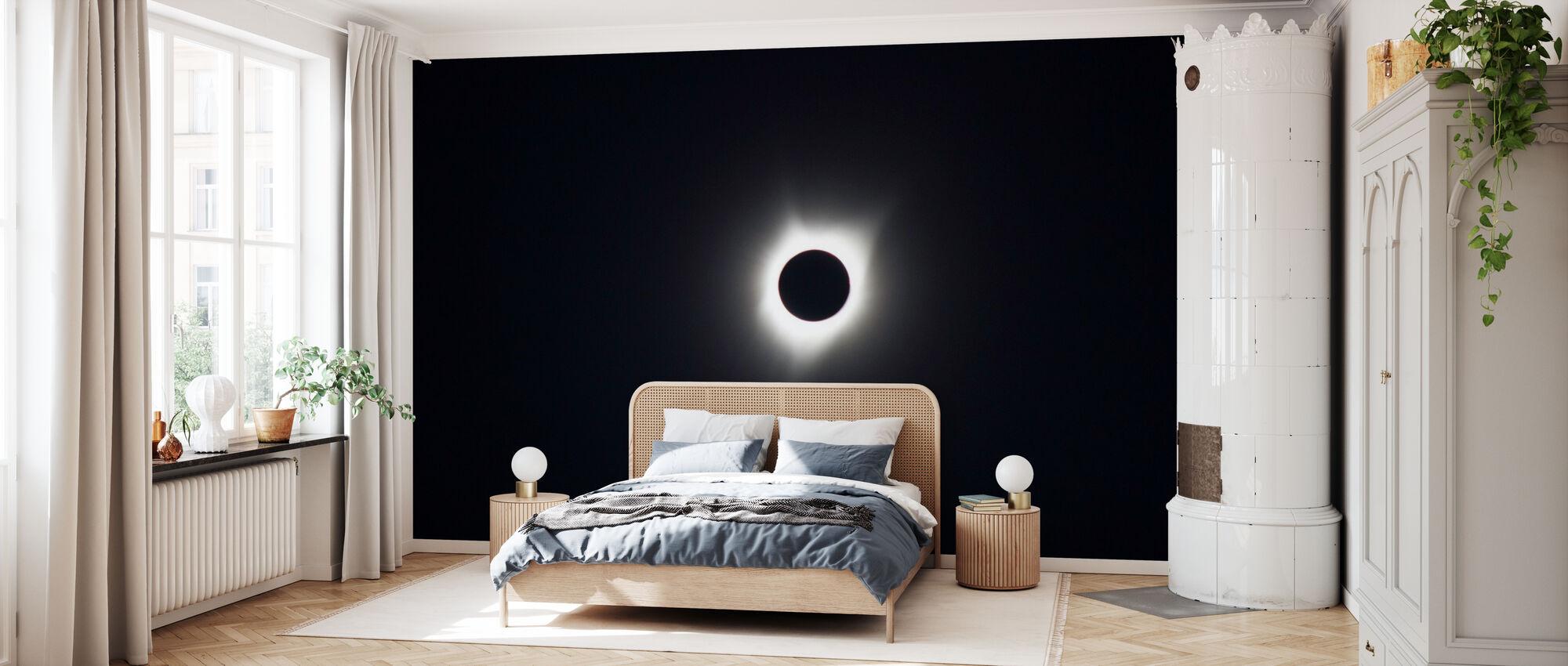 Auringonpimennys - Tapetti - Makuuhuone
