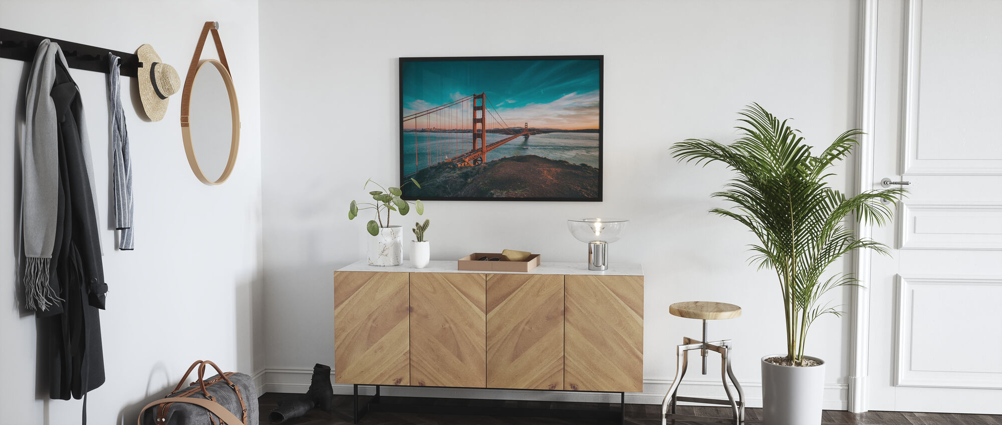 San Francisco Bridge - Poster - Hallway