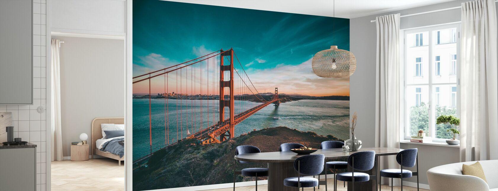 San Francisco Bridge - Tapet - Kök