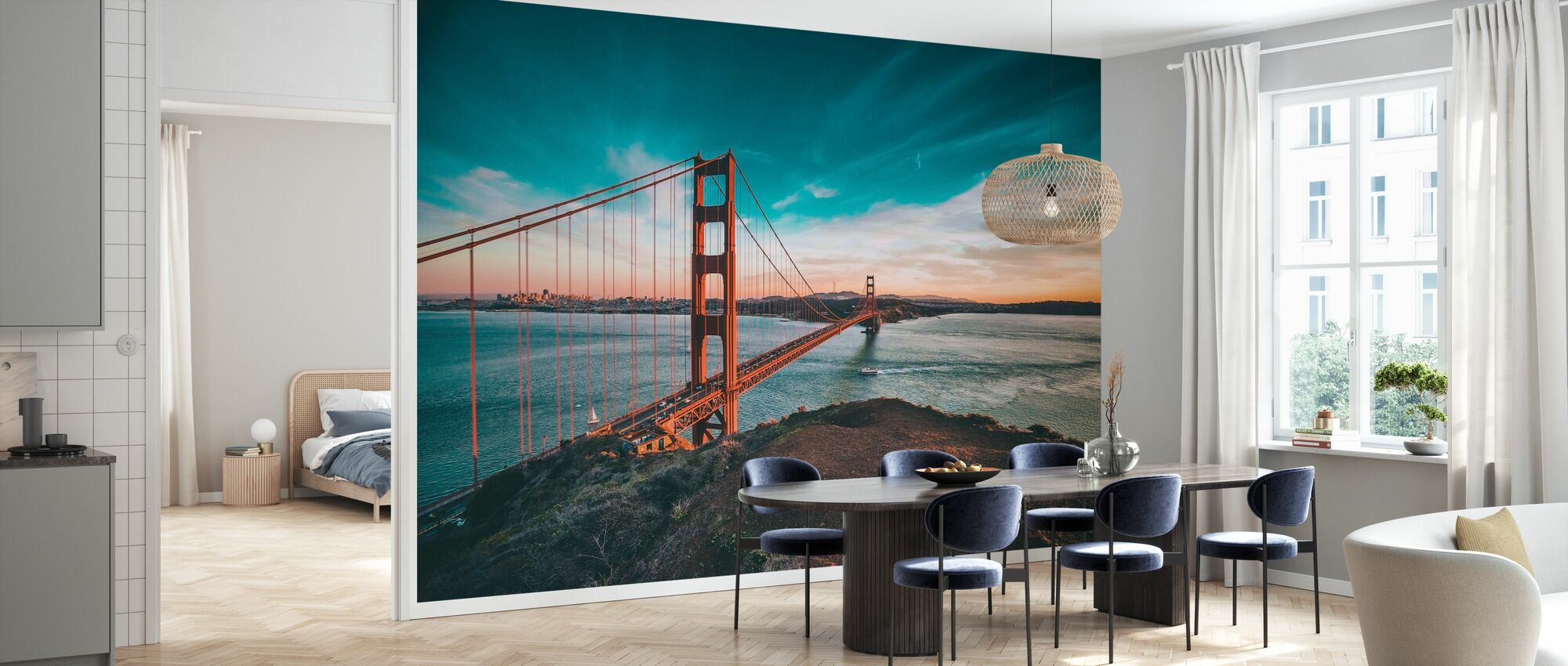 San Francisco Bridge - Wallpaper - Kitchen
