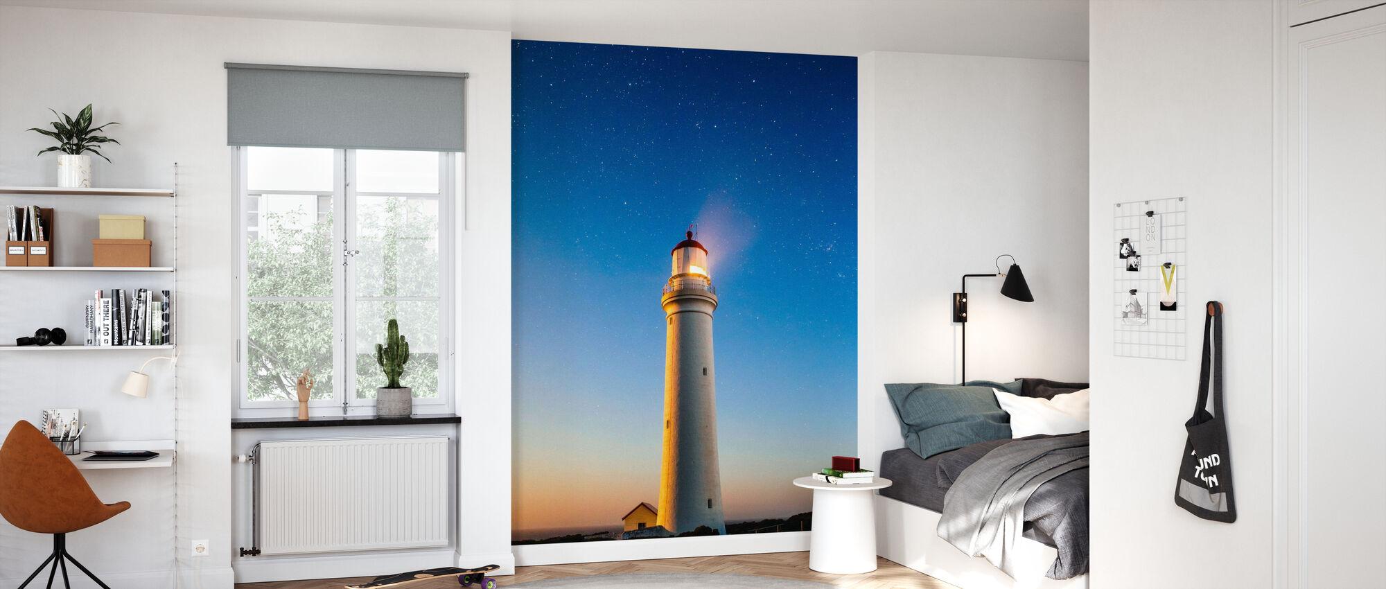 Fresh Perspective Lighthouse - Wallpaper - Kids Room