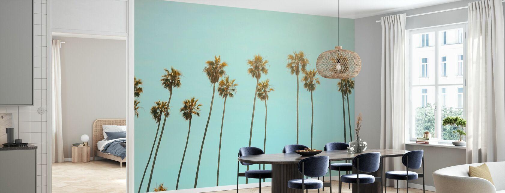 Palmiers de Santa Monica - Papier peint - Cuisine