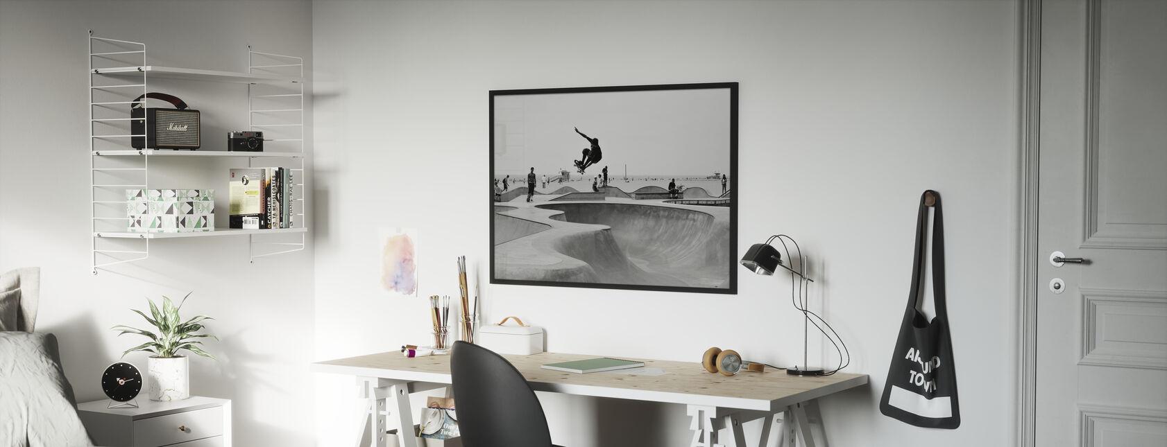 Skate Park - Framed print - Kids Room