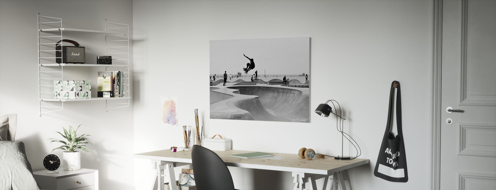 Skate Park - Canvas print - Kids Room