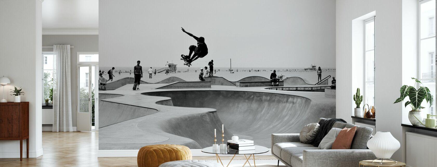 Skate Park - Behang - Woonkamer