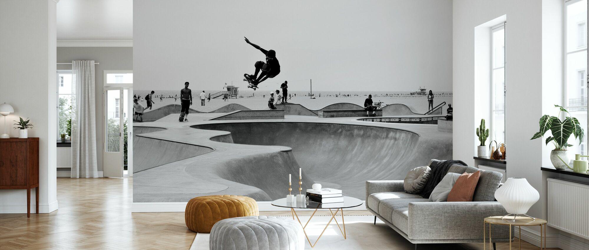 Skate Park - Wallpaper - Living Room