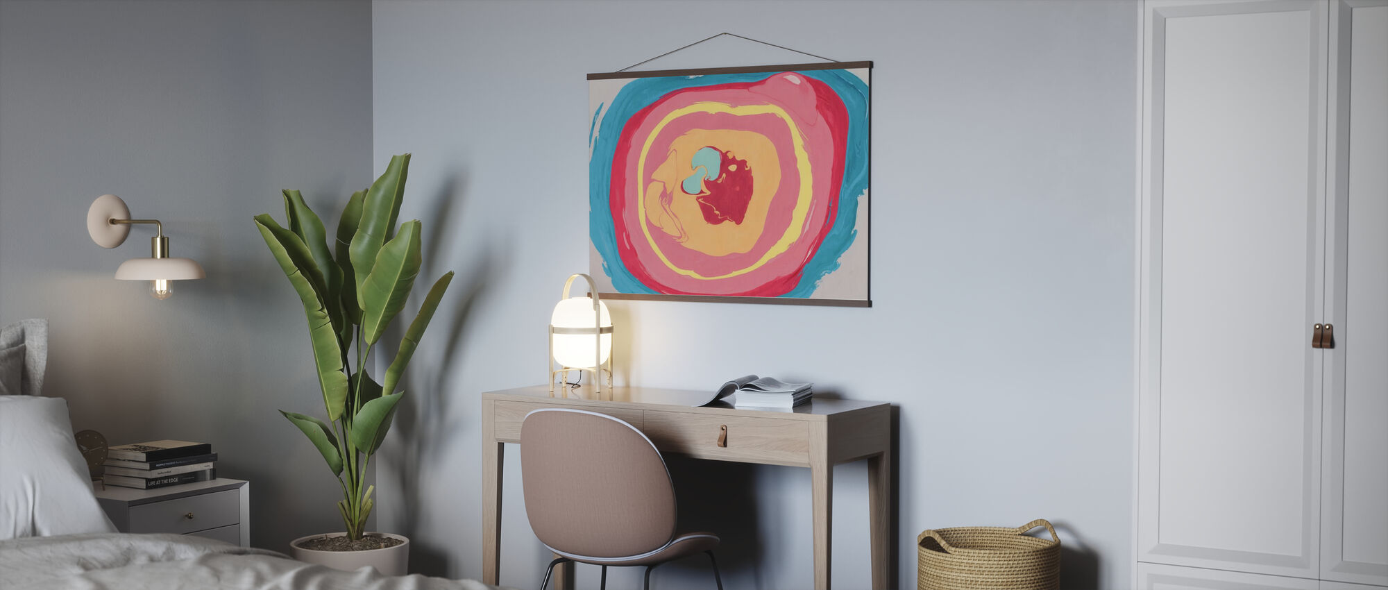 Abstract Marble Paint - Poster - Office