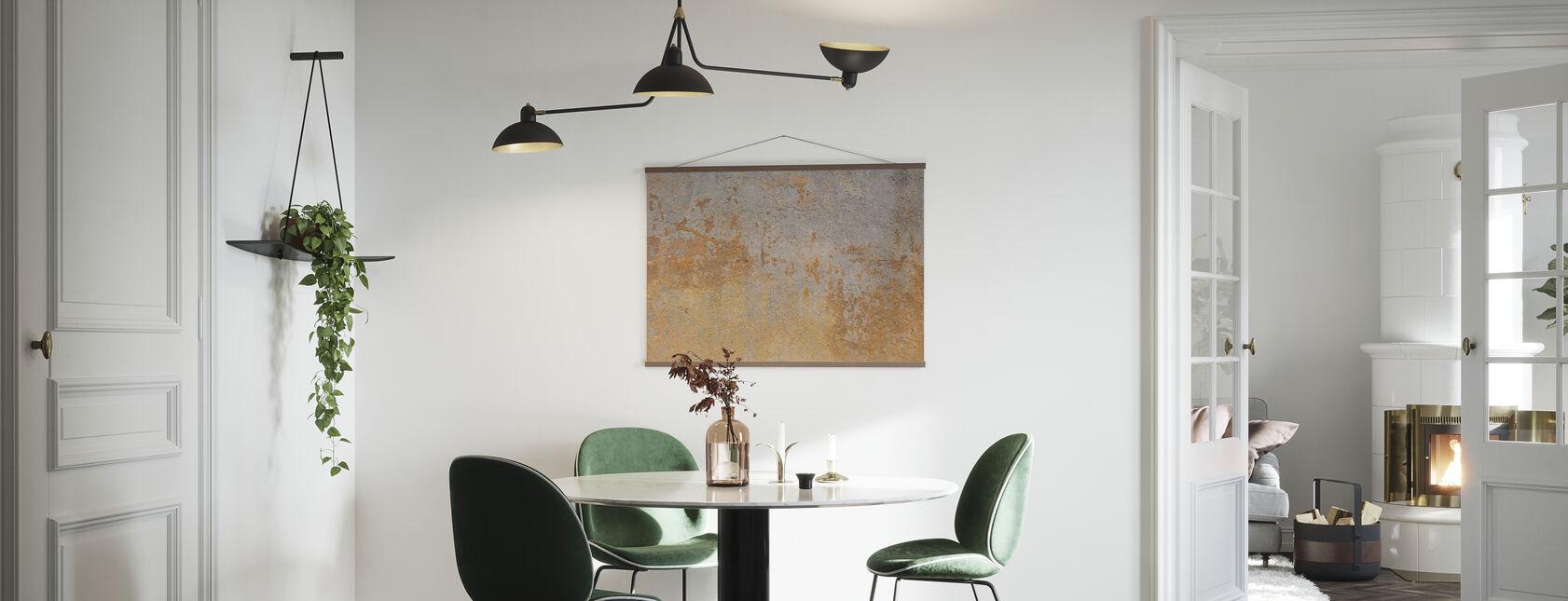 Antike Steinmauer - Poster - Küchen