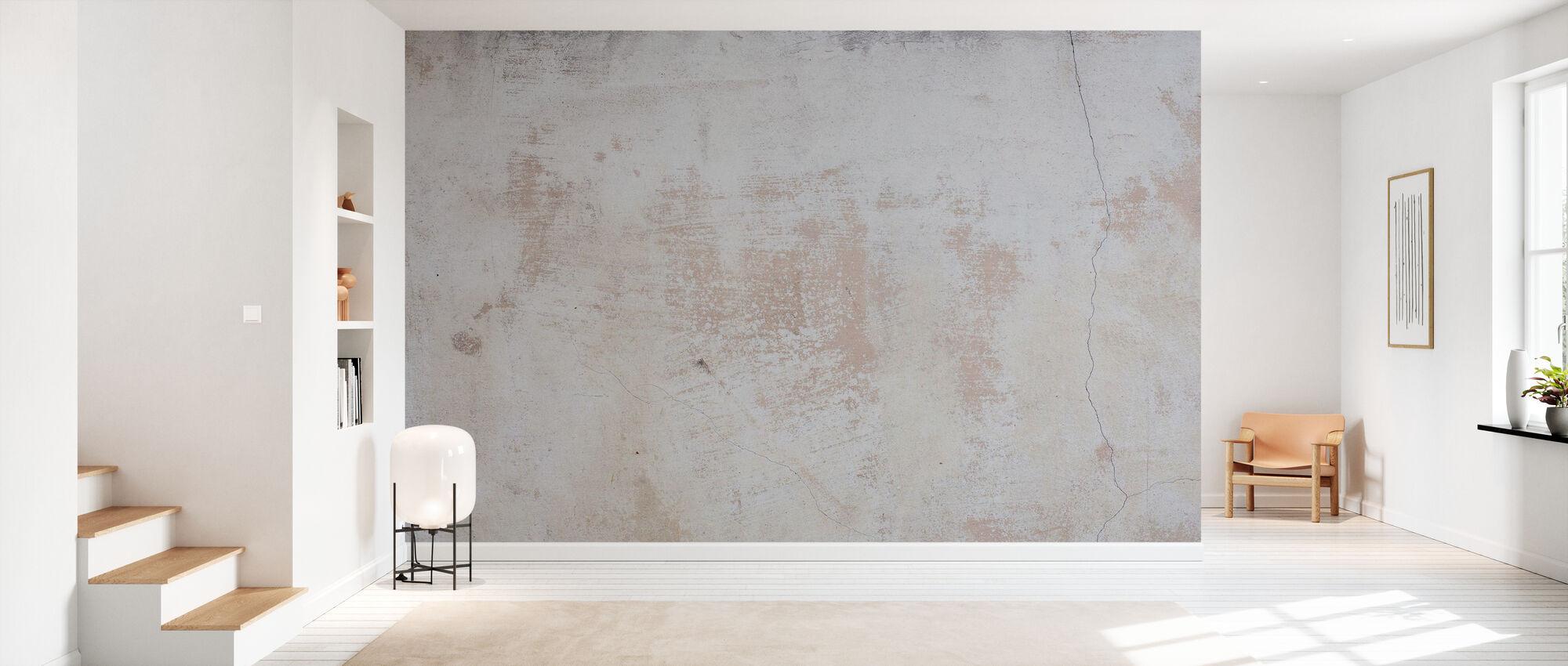 Mur effiloché - Papier peint - Entrée