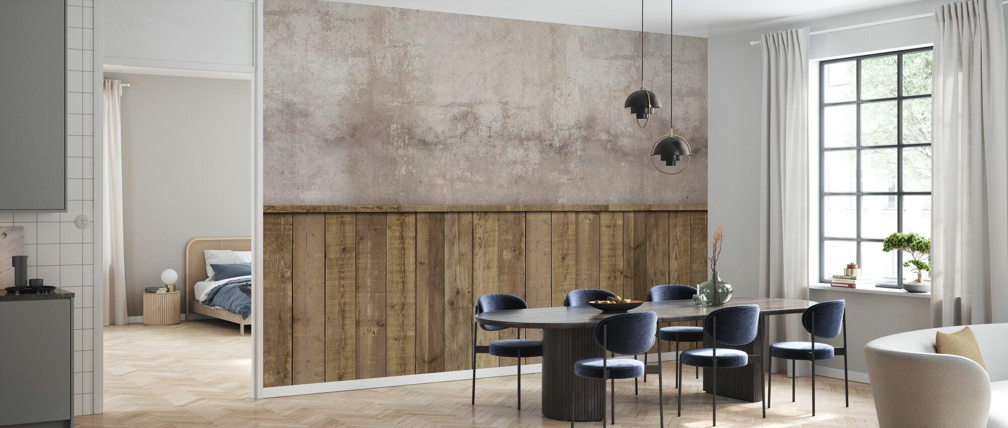 Rough Store Wall II - Tapete - Küchen