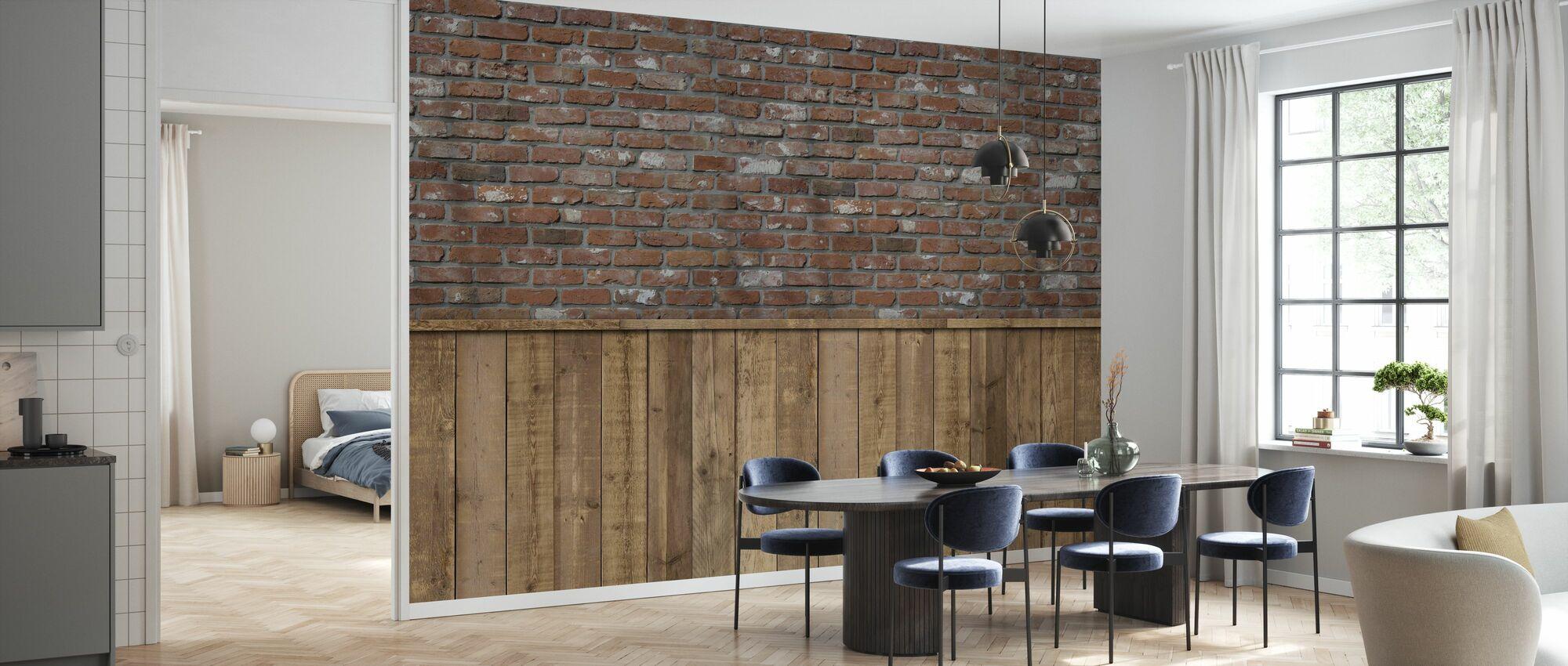 Rough Store Wall III - Tapete - Küchen