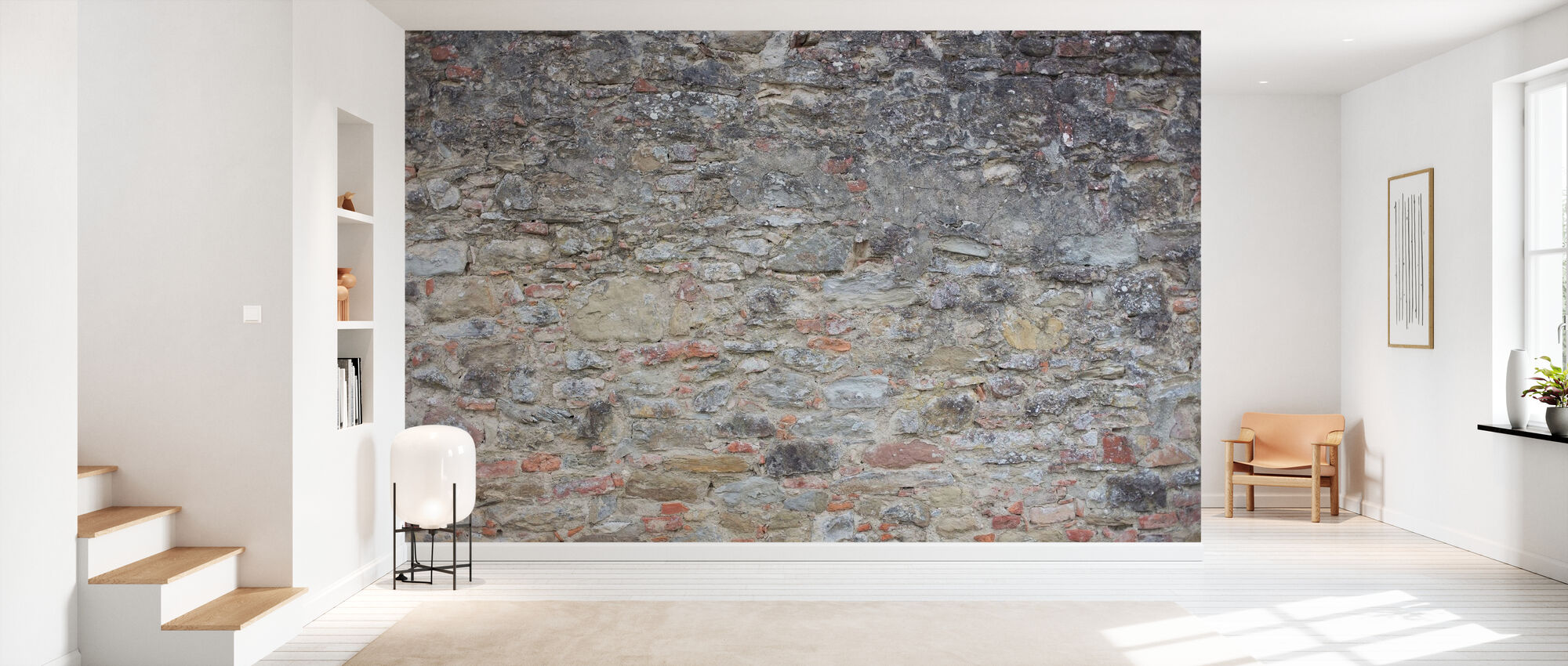 Förödande mur - Tapet - Hall