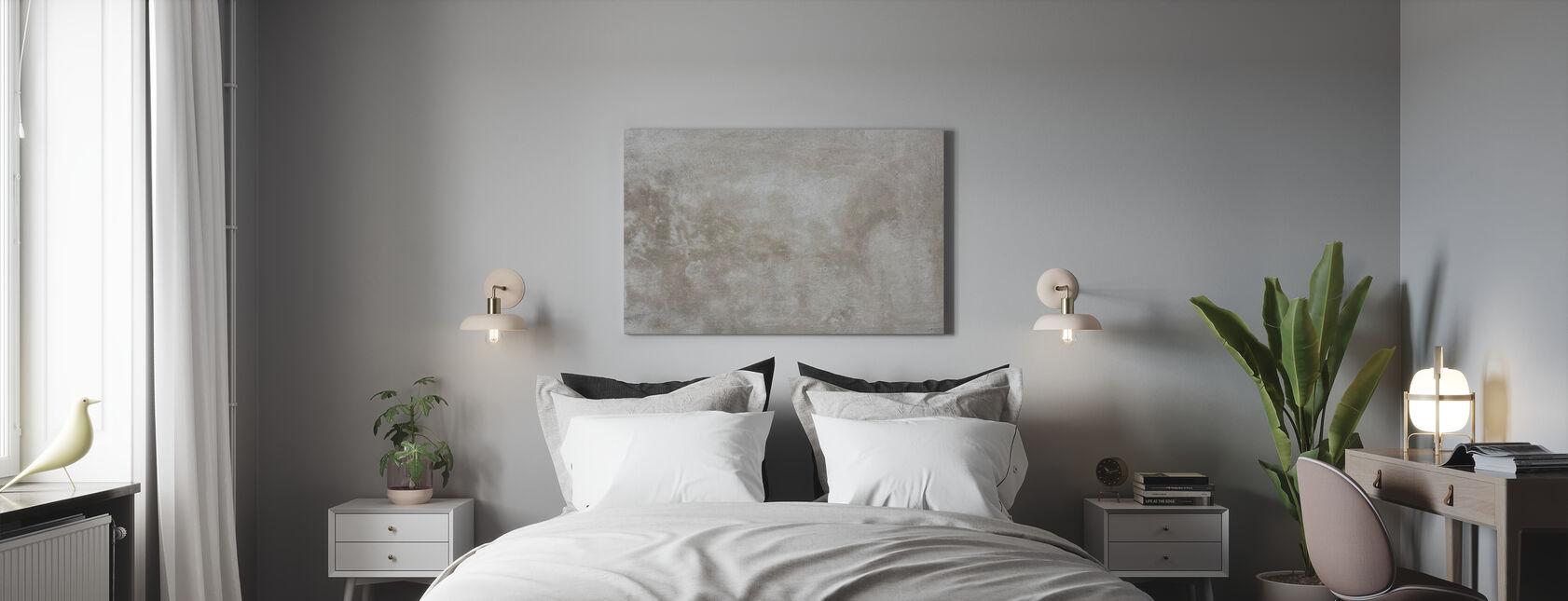 Zerrissene Beige Steinmauer - Leinwandbild - Schlafzimmer