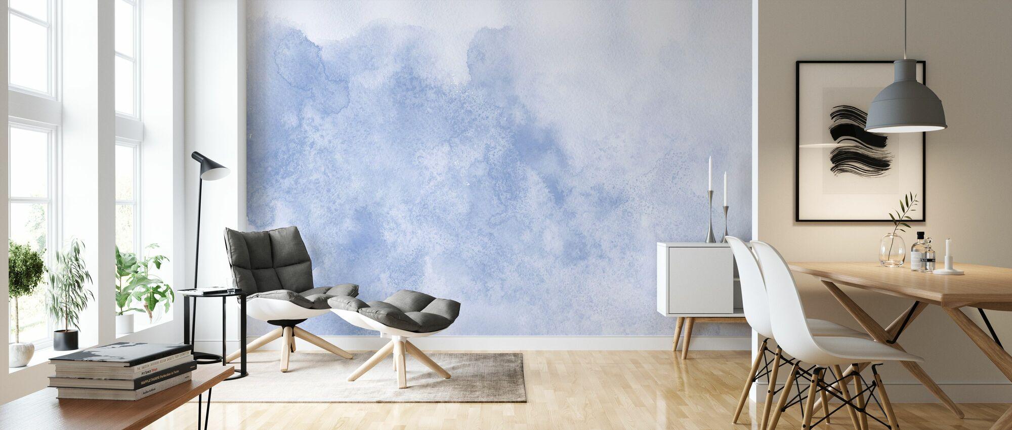 Watercolor Minimalism XII - Wallpaper - Living Room
