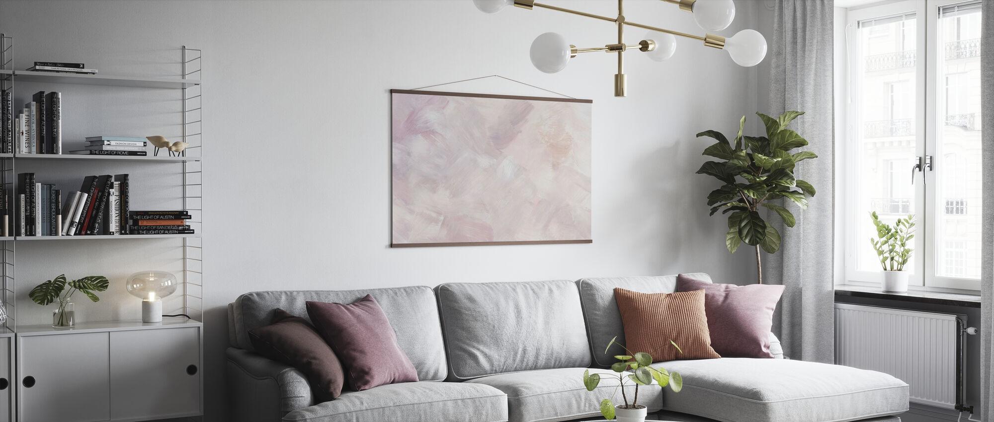 Blush Purple - Poster - Living Room