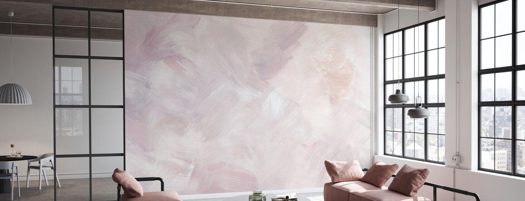 Blush Purple - Wallpaper - Office
