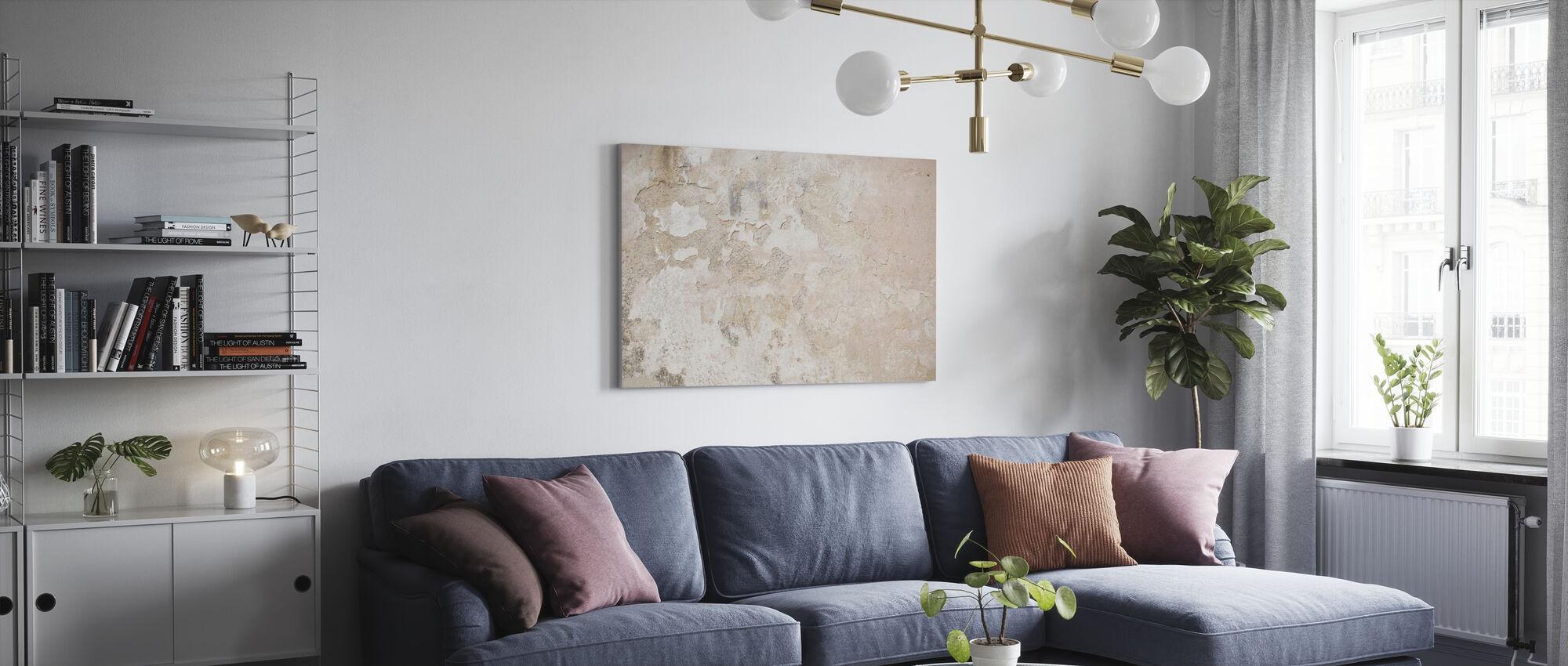 Light Street Wall - Canvas print - Living Room