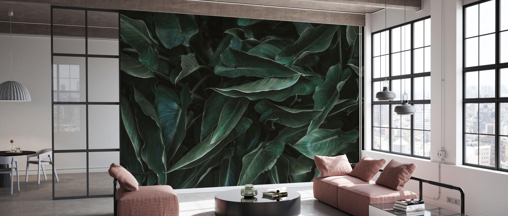 Succulent - Wallpaper - Office