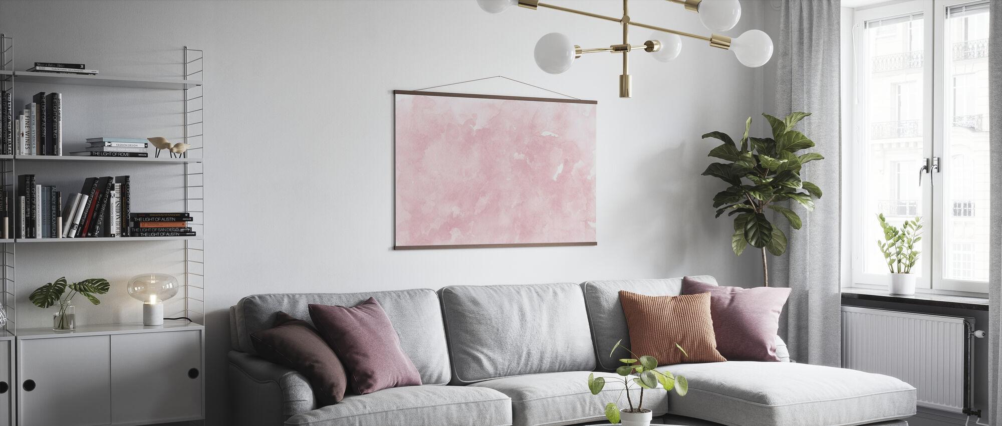Watercolor Minimalism XI - Poster - Living Room