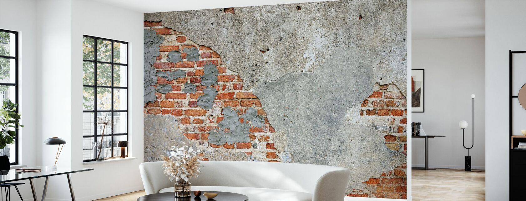 Brick Wall - Wallpaper - Living Room