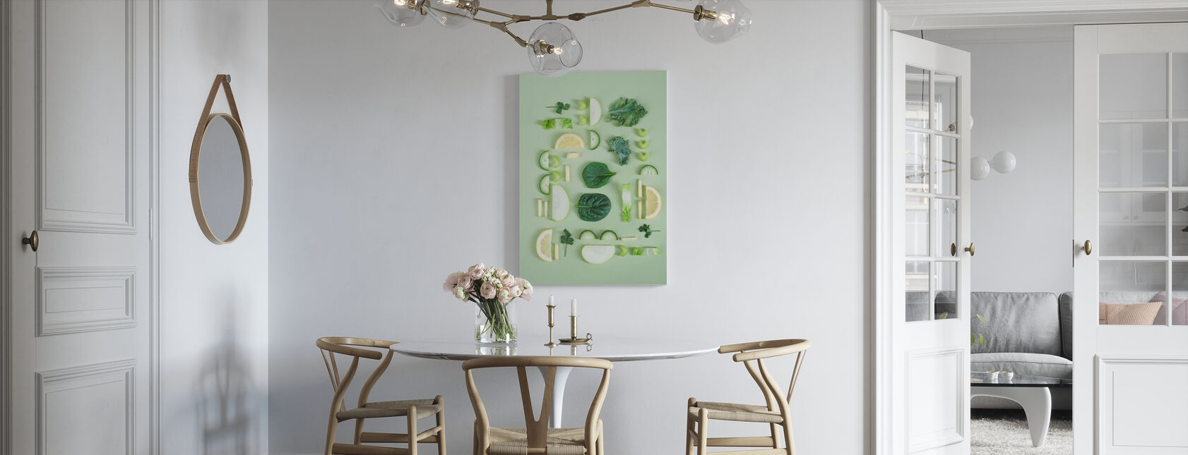 Fruits and Vegetables - Canvas print - Kitchen