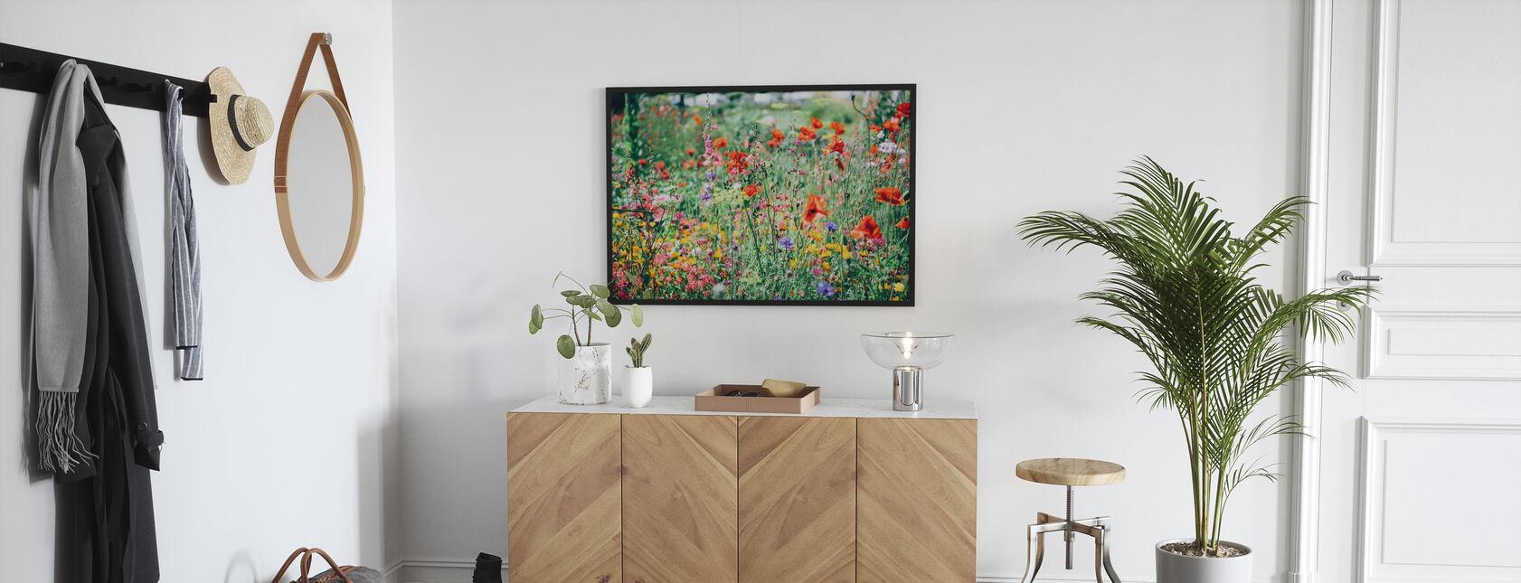Beautiful Wildflower - Framed print - Hallway