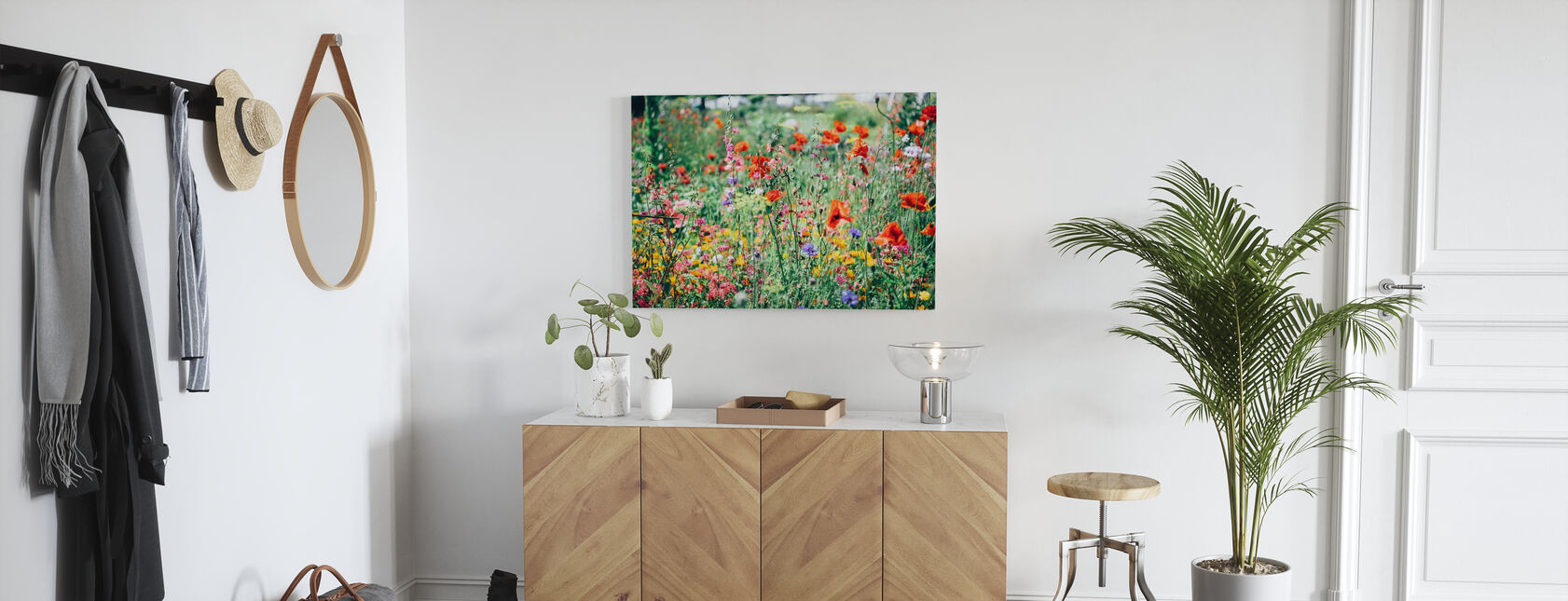 Beautiful Wildflower - Canvas print - Hallway