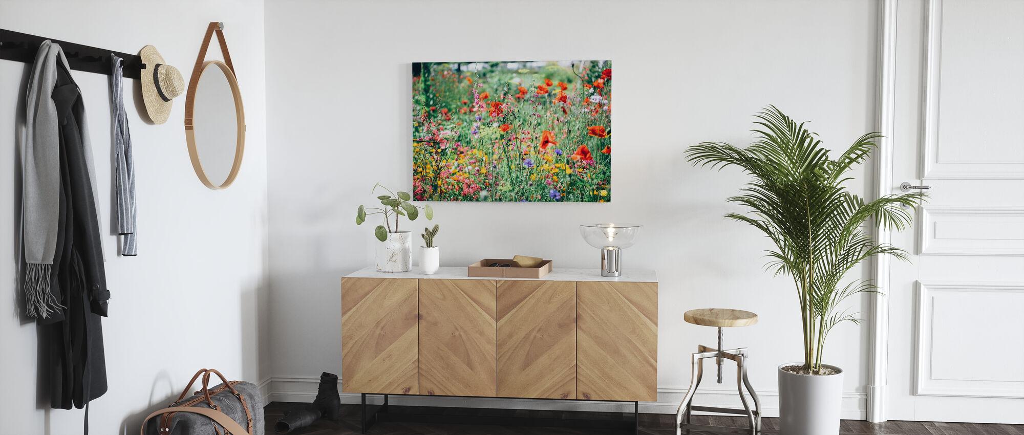 Vacker Wildflower - Canvastavla - Hall