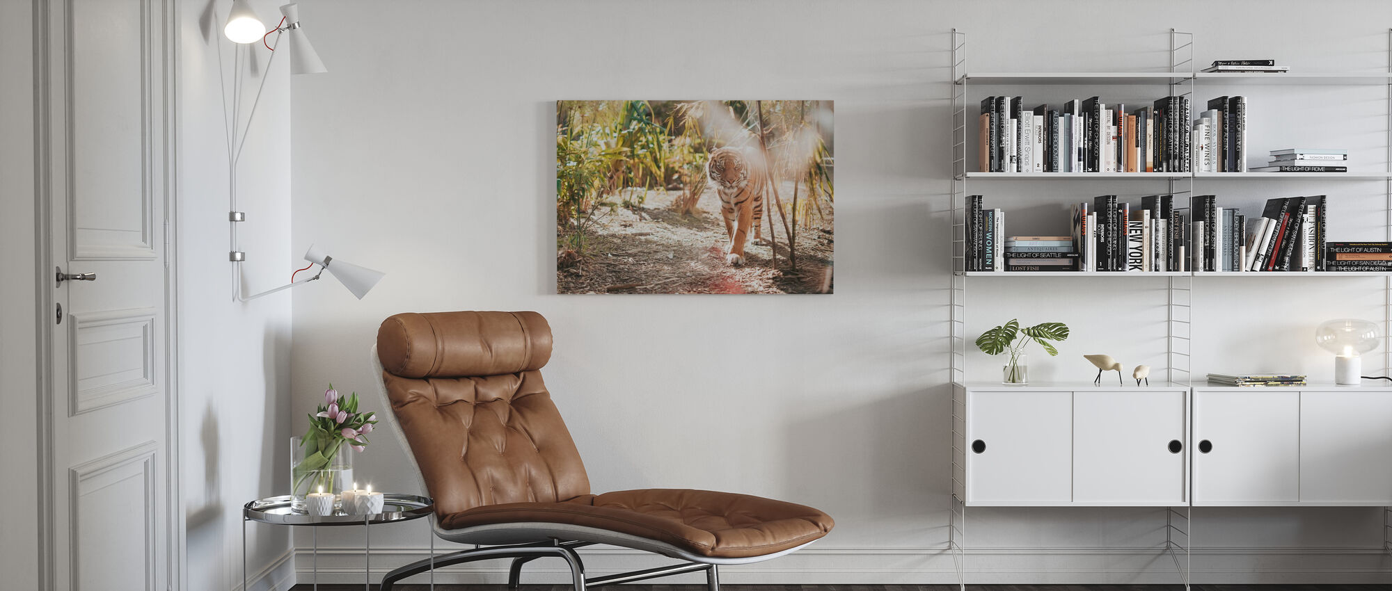 Grote Tijger - Canvas print - Woonkamer
