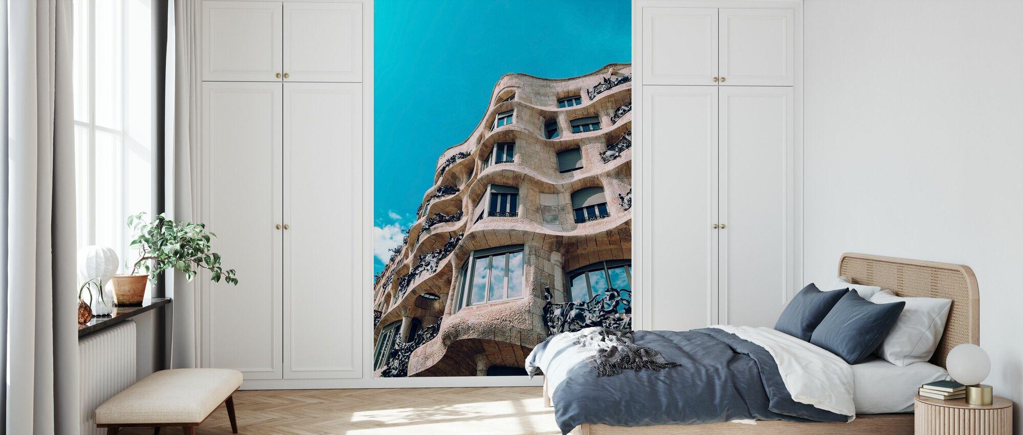 Casa Mila Gebäude - Tapete - Schlafzimmer