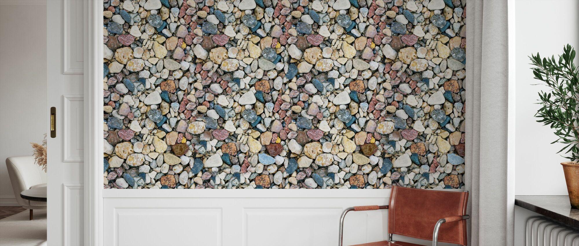 Colorful Sea Stones - Wallpaper - Hallway