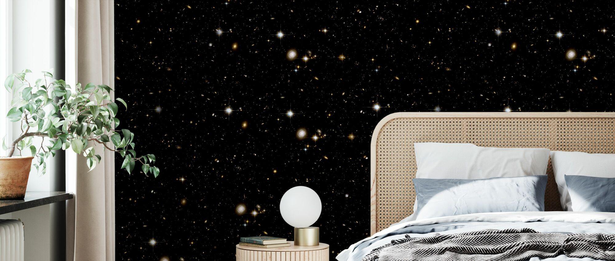 Black Stars - Wallpaper - Bedroom