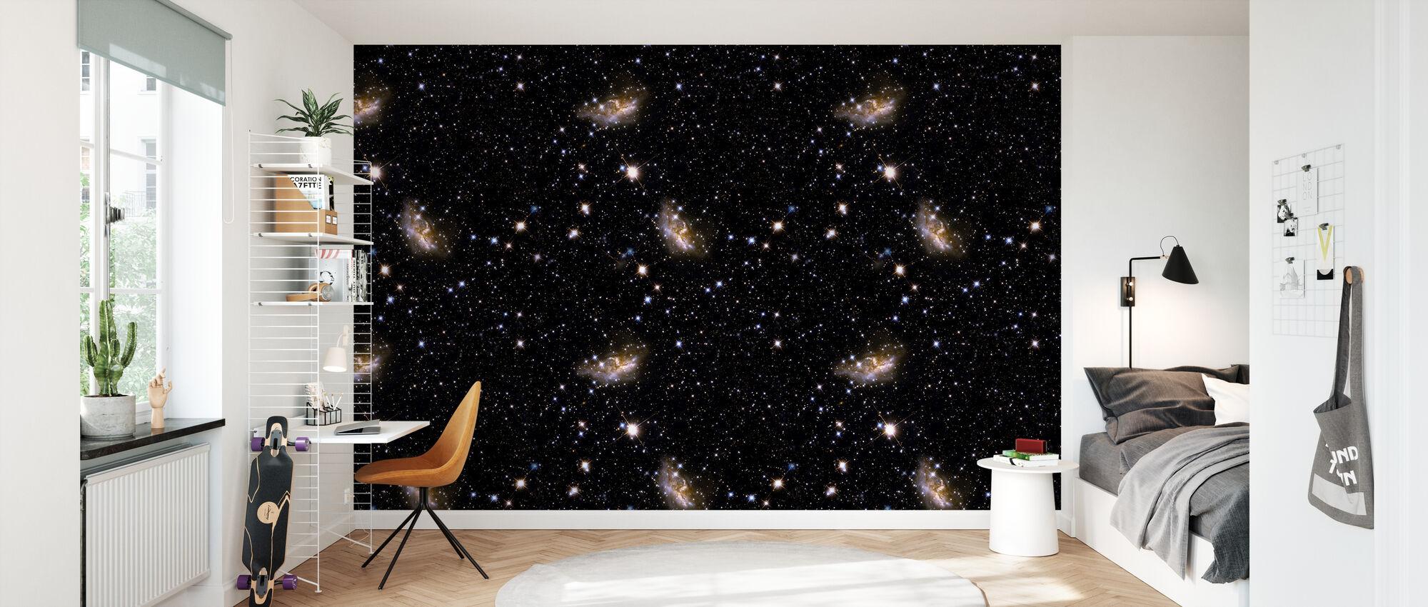 Galaxy Storm - Wallpaper - Kids Room