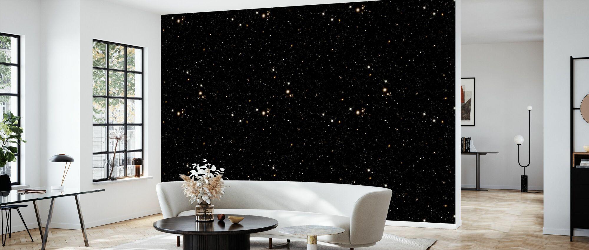 Gold Field - Wallpaper - Living Room