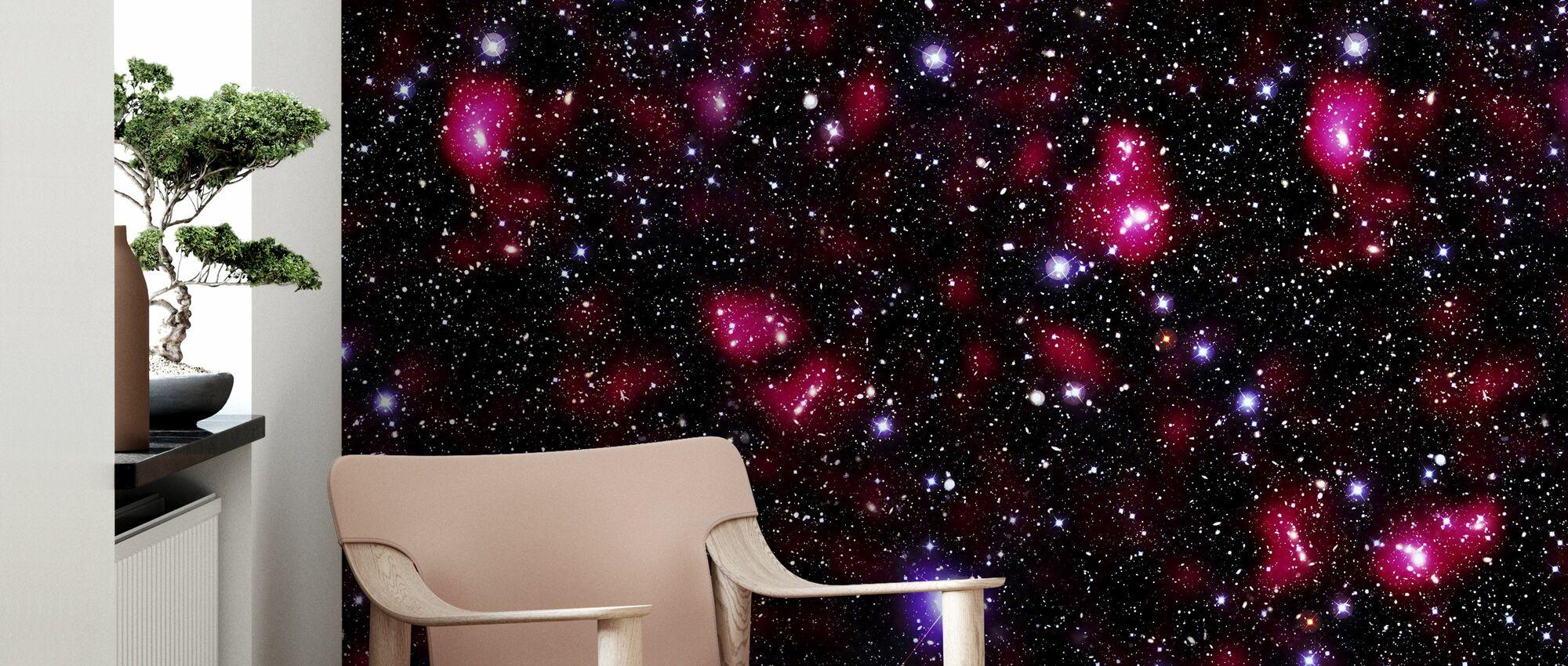 Red Starfield - Wallpaper - Living Room